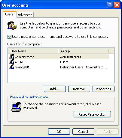 how to auto logon
