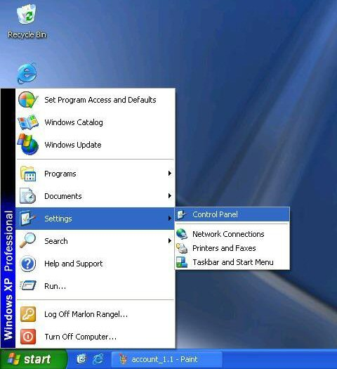 start menu classic mode